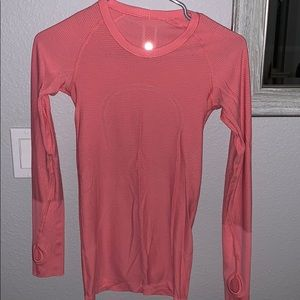 Women's lulu workout shirt